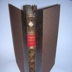 Libros antiguos: 1790 - ACUERDOS DE JUNTAS GENERALES DEL SEÑORÍO DE VIZCAYA CELEBRADOS EN GUERNICA EN 1790. Lote 46641827