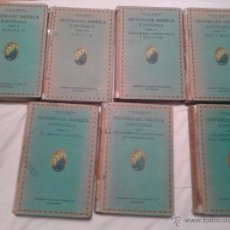 Libros antiguos: LOTE DE LIBROS MAS DE 1000 GRABADOS DE LA HISTORIA ESPAÑOLA EDITORIAL SATURNINO CALLEJA S.A. MADRID. Lote 47109309