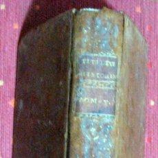 Libros antiguos: TITI LIVII PATAVINI. HISTORIARUM AB URBE CONDITA. TOMO V. 1775. Lote 47272365