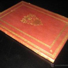 Libros antiguos: BIBLIOFILIA - RESTAURACION DE POBLET MEMORIA A SU M. EL REY D. ALFONSO XIII - 1927 - LUIS PLANDIURA. Lote 47296568