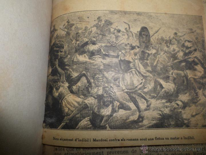 Libros antiguos: La Novel.la Histórica. Historia de Cataluña, encuadernada, en catalan. Desde orígenes a 1917. - Foto 3 - 47401896