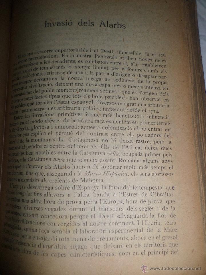 Libros antiguos: La Novel.la Histórica. Historia de Cataluña, encuadernada, en catalan. Desde orígenes a 1917. - Foto 5 - 47401896