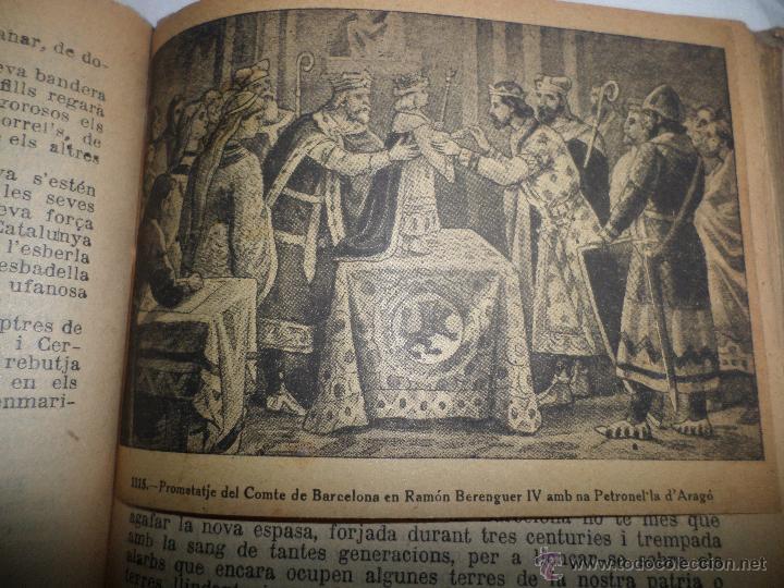 Libros antiguos: La Novel.la Histórica. Historia de Cataluña, encuadernada, en catalan. Desde orígenes a 1917. - Foto 8 - 47401896