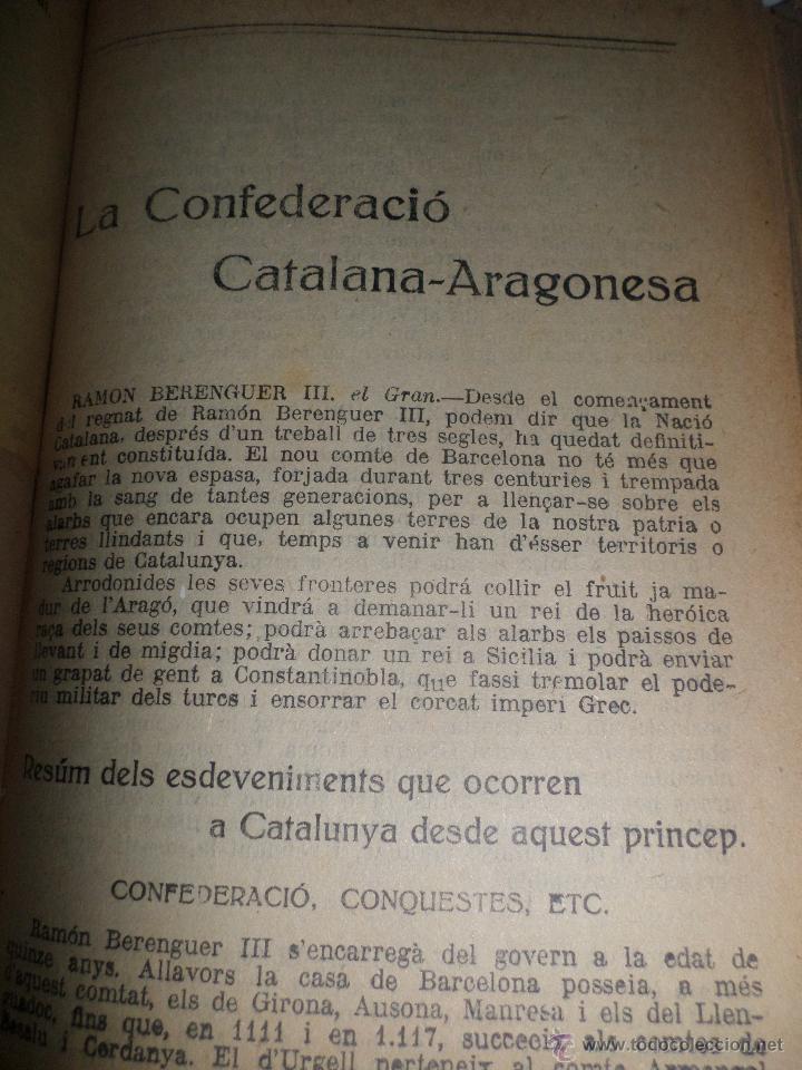 Libros antiguos: La Novel.la Histórica. Historia de Cataluña, encuadernada, en catalan. Desde orígenes a 1917. - Foto 9 - 47401896
