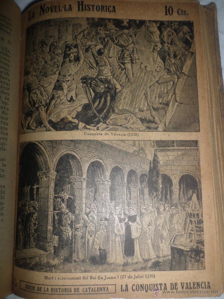 Libros antiguos: La Novel.la Histórica. Historia de Cataluña, encuadernada, en catalan. Desde orígenes a 1917. - Foto 10 - 47401896