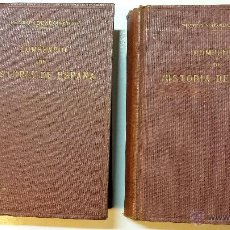 Libros antiguos: COMPENDIO DE HISTORIA DE ESPAÑA EN 2 VOLUMENES. POR PEDRO AGUADO. AÑOS 1929 Y 1930.. Lote 47586963