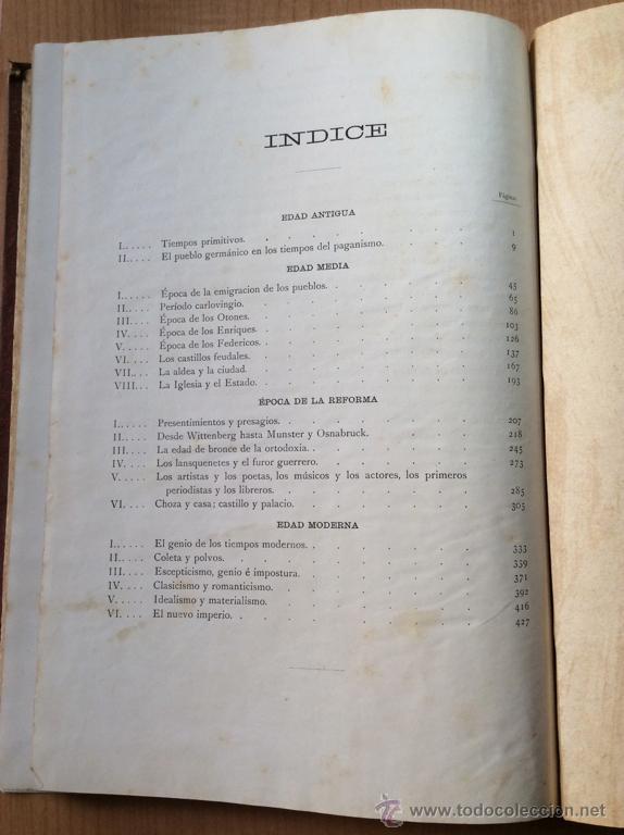 Libros antiguos: GERMANIA - DOS MIL AÑOS DE HISTORIA ALEMANA - JUAN SCHERR - BARCELONA - ED. MONTANER Y SIMON - 1882 - Foto 2 - 47783070