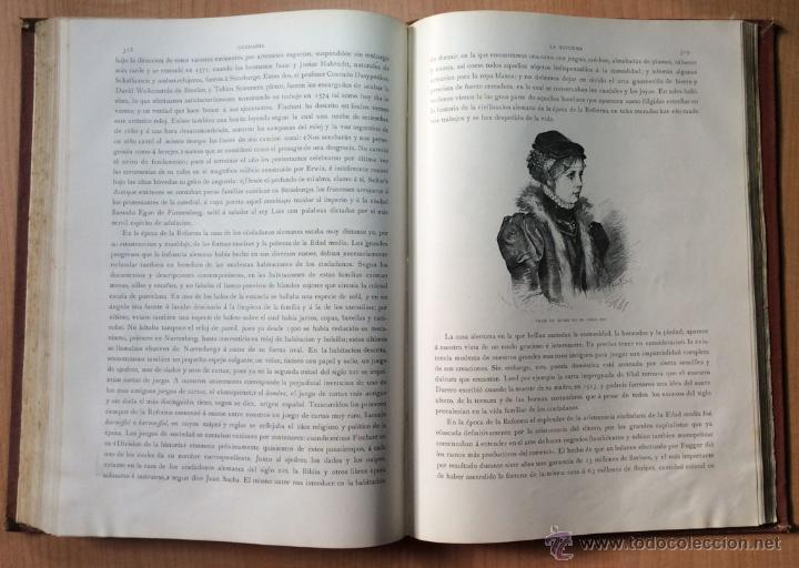 Libros antiguos: GERMANIA - DOS MIL AÑOS DE HISTORIA ALEMANA - JUAN SCHERR - BARCELONA - ED. MONTANER Y SIMON - 1882 - Foto 4 - 47783070