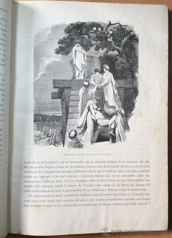 Libros antiguos: GERMANIA - DOS MIL AÑOS DE HISTORIA ALEMANA - JUAN SCHERR - BARCELONA - ED. MONTANER Y SIMON - 1882 - Foto 6 - 47783070