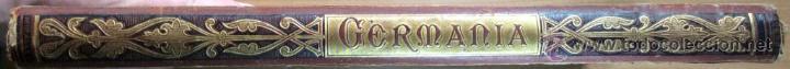 Libros antiguos: GERMANIA - DOS MIL AÑOS DE HISTORIA ALEMANA - JUAN SCHERR - BARCELONA - ED. MONTANER Y SIMON - 1882 - Foto 8 - 47783070