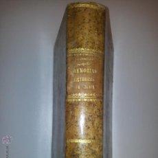 Libros antiguos: MEMORIAS HISTÓRICAS DE VIZCAYA, POR FIDEL DE SAGARMINAGA, 1880, PRIMERA EDICIÓN, PAÍS VASCO. Lote 47915326