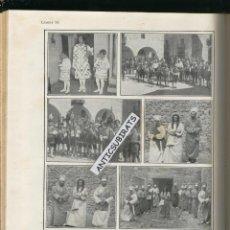 Libros antiguos: ARXIU DE TRADICIONS POPULARS VALERI SERRA BOLDU ANY 1928 I 1935 PAÏSOS CATALANS FOTOS FESTA VERGES. Lote 47946081