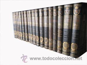 Libros antiguos: HISTORIA GENERAL DE ESPAÑA (18 volúmenes) CANÓVAS DEL CASTILLO Antonio (dir) 1892 - Foto 2 - 48376108