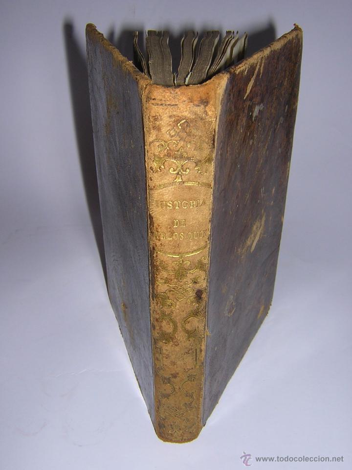 1846 - HISTORIA DEL EMPERADOR CARLOS QUINTO, SIGUIENDO LA DE ROBERTSON (Libros antiguos (hasta 1936), raros y curiosos - Historia Antigua)