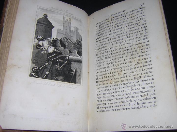 Libros antiguos: 1846 - HISTORIA DEL EMPERADOR CARLOS QUINTO, SIGUIENDO LA DE ROBERTSON - Foto 4 - 48454323