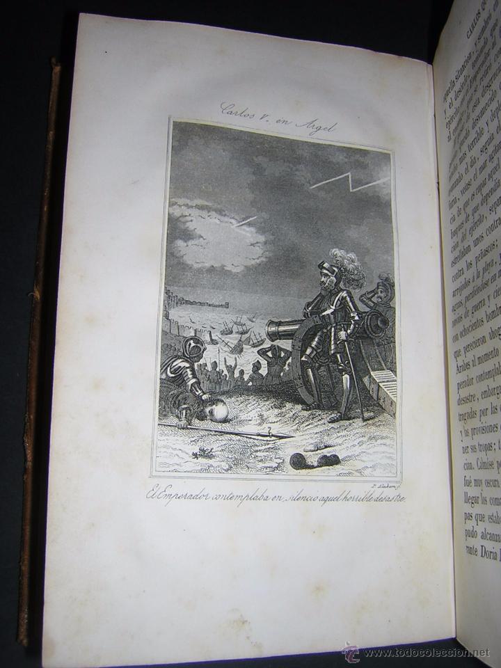 Libros antiguos: 1846 - HISTORIA DEL EMPERADOR CARLOS QUINTO, SIGUIENDO LA DE ROBERTSON - Foto 5 - 48454323