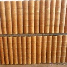 Libros antiguos: 30 TOMOS HISTORIA GENERAL DE ESPAÑA POR DON MODESTO LA FUENTE MADRID 1º TOMO AÑO 1850 30º TOMO 1867. Lote 48976460