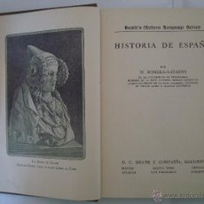 Libros antiguos: ROMERA-NAVARRO. HISTORIA DE ESPAÑA.1923 OBRA EDITADA EN NEW YORK EN ESPAÑOL.ILUST.. Lote 49262406