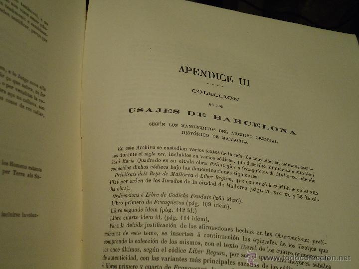 Libros antiguos: HISTORIA CORTES ARAGON VALENCIA CATALUÑA DEL AÑO 1331 AL 1358 - Foto 3 - 49345890