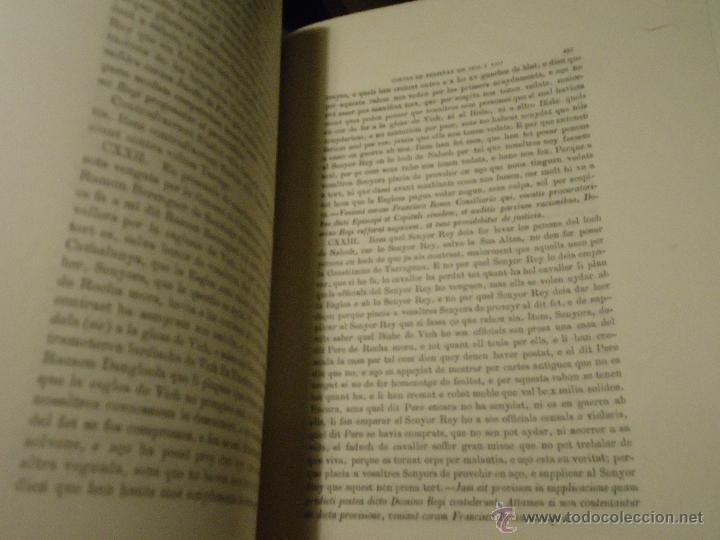 Libros antiguos: HISTORIA CORTES ARAGON VALENCIA CATALUÑA DEL AÑO 1331 AL 1358 - Foto 6 - 49345890