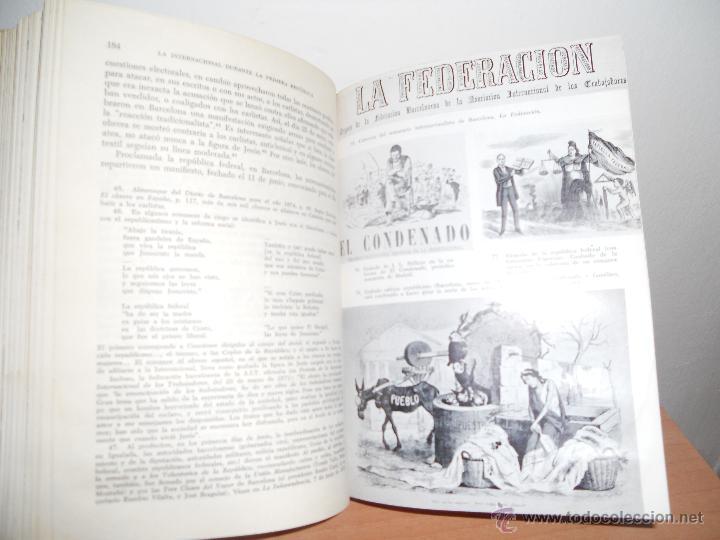 Libros antiguos: ANARQUISMO Y SINDICALISMO EN ESPAÑA.-JOSEP TERMES - Foto 2 - 49602459