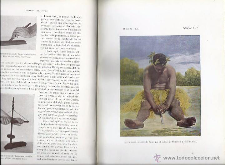 Libros antiguos: HISTORIA DEL MUNDO. TOMO I, por José PIJOÁN. (Salvat Editores, Barcelona, 1926) - Foto 2 - 49981910