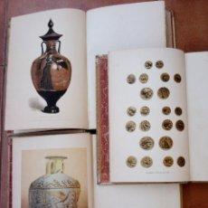 Libros antiguos: III TOMOS OBRA COMPLETA,HISTORIA DE LOS GRIEGOS,SIGLO XIX, AÑO 1891,TEMA ARQUEOLOGIA,TETRADRACMA ORO. Lote 50122084