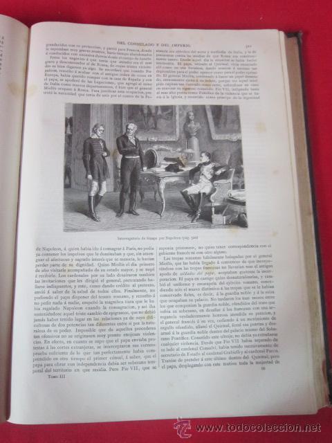 Libros antiguos: Historia del Consulado y del Imperio, por M.A. Thiers. 1879. Tomo Tercero. - Foto 4 - 50180767