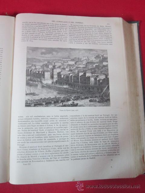 Libros antiguos: Historia del Consulado y del Imperio, por M.A. Thiers. 1879. Tomo Tercero. - Foto 5 - 50180767