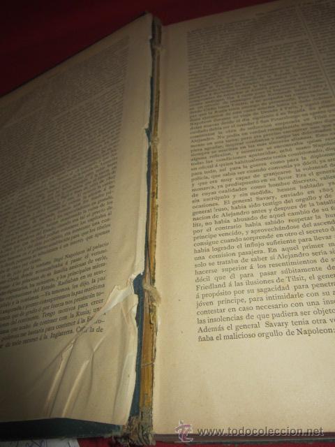 Libros antiguos: Historia del Consulado y del Imperio, por M.A. Thiers. 1879. Tomo Tercero. - Foto 6 - 50180767
