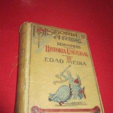 Libros antiguos: HISTORIA UNIVERSAL. CH. SEIGNOBOS. VOLUMEN III. EDAD MEDIA. 1928.. Lote 50189941