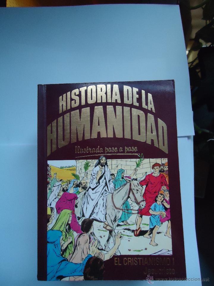 LIBRO. LOTE DE 13 LIBROS HISTORIA DE LA HUMANIDAD, ILUSTRADA PASO A PASO, (Libros antiguos (hasta 1936), raros y curiosos - Historia Antigua)