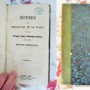 Libros antiguos: HISTORIAS DE LAS REPUBLICAS DE LA PLATA 1512-1810. AÑO 1863. Lote 50326273