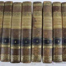Libros antiguos: L-2040. HISTORIA UNIVERSAL. CESAR CANTU. TOMOS 1 AL 10. MADRID 1847.. Lote 50418390