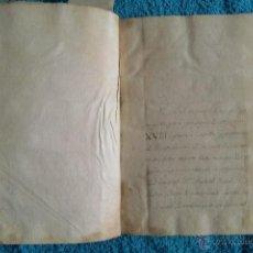 Libros antiguos: MADRID. DUENDE EN PALACIO. DIARIO MANUSCRITO ANÓNIMO DEL SIGLO XVIII. EXTRAORDINARIO EJEMPLAR.. Lote 50429514
