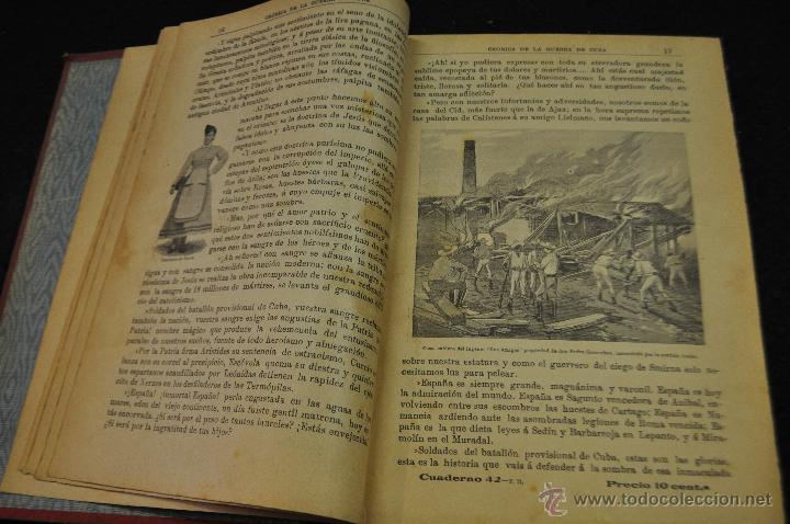 Libros antiguos: CRÓNICA DE LA GUERRA DE CUBA - 1895-96 - RAFAEL GUERRERO - TOMO SEGUNDO - EDITORIAL MAUCCI 1896 - Foto 5 - 50444368