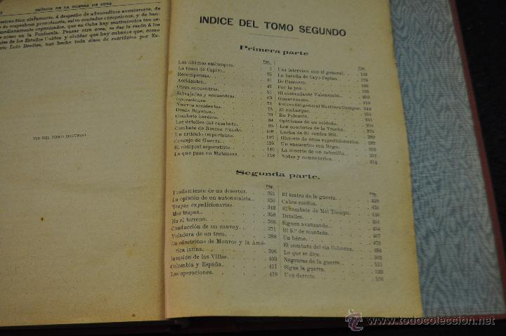 Libros antiguos: CRÓNICA DE LA GUERRA DE CUBA - 1895-96 - RAFAEL GUERRERO - TOMO SEGUNDO - EDITORIAL MAUCCI 1896 - Foto 6 - 50444368