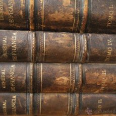 Libros antiguos: HISTORIA GENERAL DE FRANCIA . D.VIENTE ORTIZ DE LA PUEBLA. BARCELONA 1875.. Lote 50456881