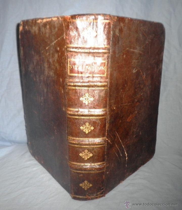 VITAE PATRUM - AÑO 1617 - VIDAS DE LOS PATRIARCAS - IN FOLIO - MUY RARO. (Libros antiguos (hasta 1936), raros y curiosos - Historia Antigua)