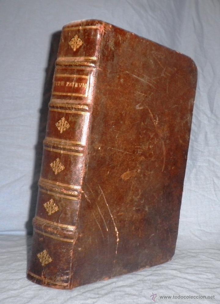 Libros antiguos: VITAE PATRUM - AÑO 1617 - VIDAS DE LOS PATRIARCAS - IN FOLIO - MUY RARO. - Foto 2 - 50631243