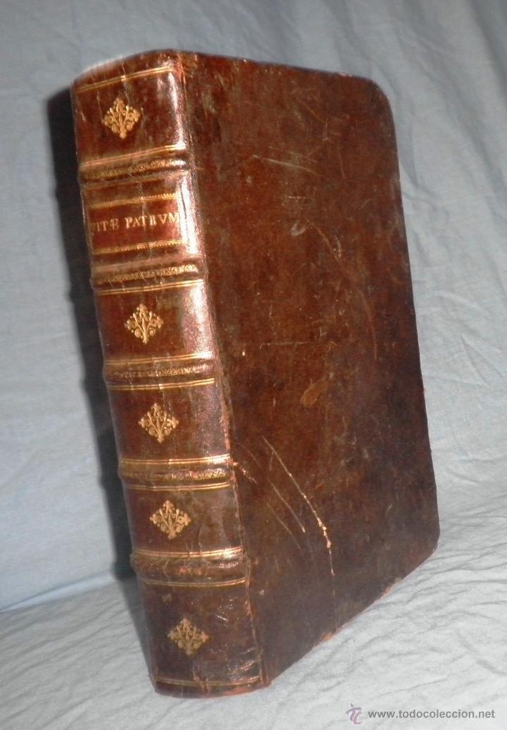 Libros antiguos: VITAE PATRUM - AÑO 1617 - VIDAS DE LOS PATRIARCAS - IN FOLIO - MUY RARO. - Foto 3 - 50631243