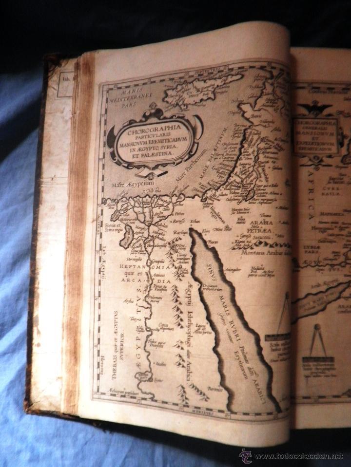 Libros antiguos: VITAE PATRUM - AÑO 1617 - VIDAS DE LOS PATRIARCAS - IN FOLIO - MUY RARO. - Foto 13 - 50631243