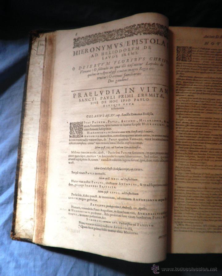 Libros antiguos: VITAE PATRUM - AÑO 1617 - VIDAS DE LOS PATRIARCAS - IN FOLIO - MUY RARO. - Foto 18 - 50631243