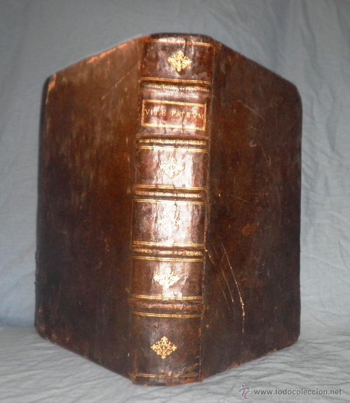 Libros antiguos: VITAE PATRUM - AÑO 1617 - VIDAS DE LOS PATRIARCAS - IN FOLIO - MUY RARO. - Foto 20 - 50631243
