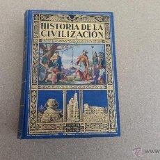 Libros antiguos: HISTORIA DE LA CIVILIZACION AÑO 1935. Lote 50873036