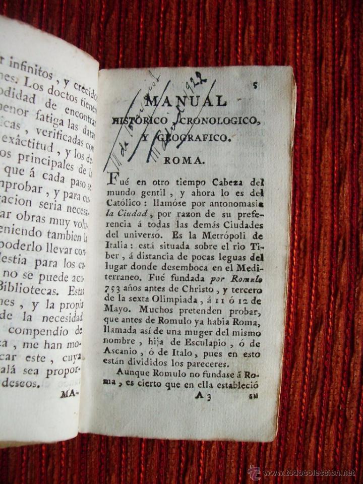 Libros antiguos: 1788-MANUAL HISTORICO, CRONOLOGICO Y GEOGRAFICO DE REINOS Y REYES DE EUROPA.EUGENIO LARRUGA.ORIGINAL - Foto 2 - 65765455