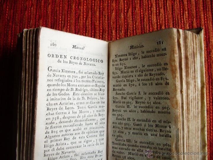 Libros antiguos: 1788-MANUAL HISTORICO, CRONOLOGICO Y GEOGRAFICO DE REINOS Y REYES DE EUROPA.EUGENIO LARRUGA.ORIGINAL - Foto 3 - 65765455