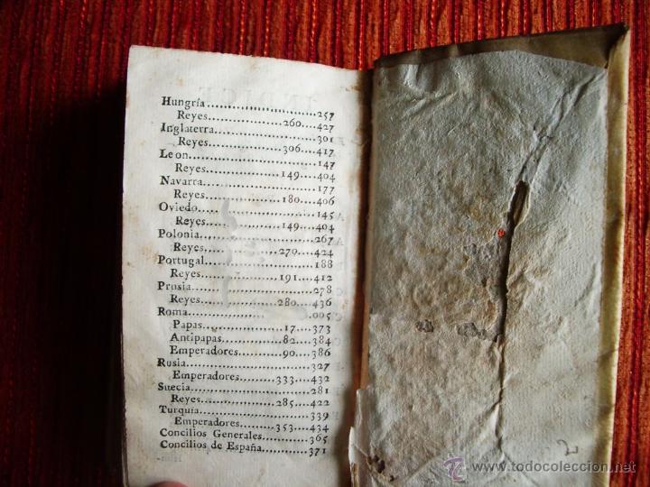 Libros antiguos: 1788-MANUAL HISTORICO, CRONOLOGICO Y GEOGRAFICO DE REINOS Y REYES DE EUROPA.EUGENIO LARRUGA.ORIGINAL - Foto 6 - 65765455