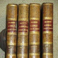 Libros antiguos: COLECCIÓN DE CÉDULAS...A LAS PROVINCIAS VASCONGADAS. IMPRENTA REAL 1829-30, CUATRO TOMOS, PAÍS VASCO. Lote 51148161