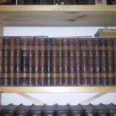 Libros antiguos: HISTORIA DE ESPAÑA MODESTO LAFUENTE (25 VOLÚMENES) AÑO 1887. Lote 51351935